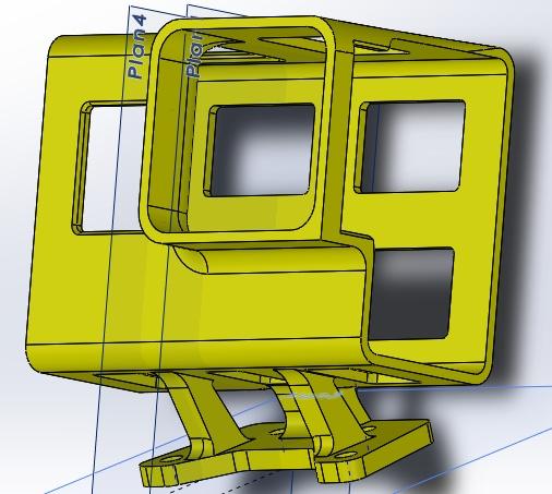 3D support GoPro Hero 6