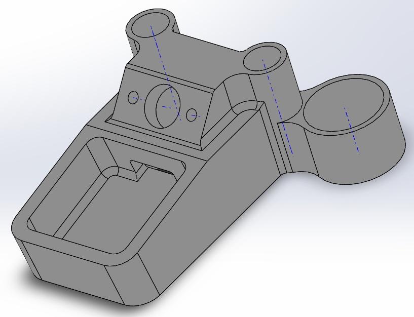 3D Support GPS et Antenne