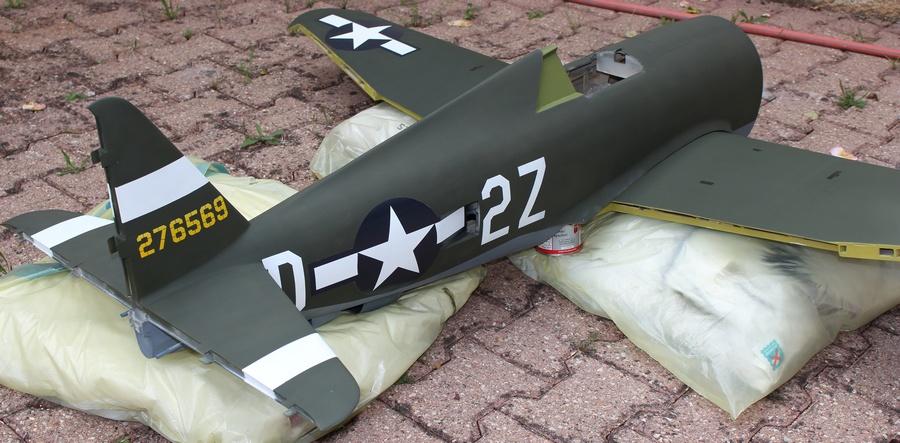 P-47 peint