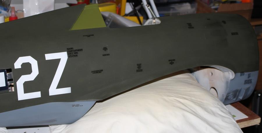 Marquages fuselage