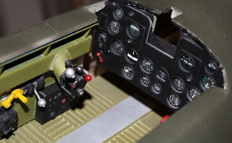 Cockpit P-47