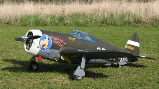 P-47 Raid Hot Mama